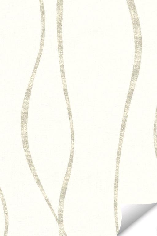 Lines in weiß-beige