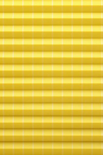 gelber Plisseestoff