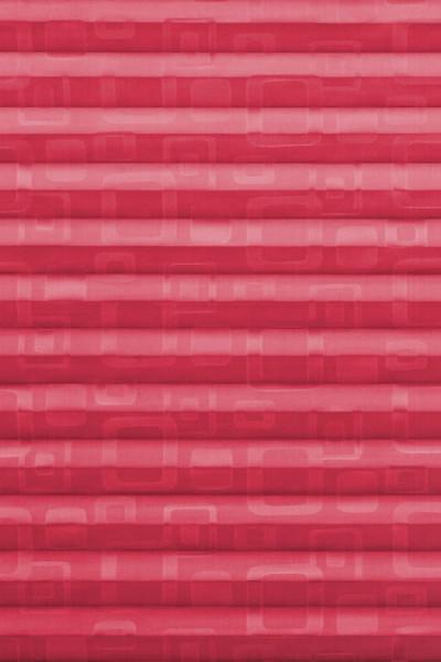 pink gemusterter Plisseestoff