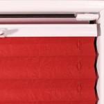 Plisseemontage mit Klebeplatte ohne Bohren