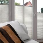 Plissee rechteckige Fenster