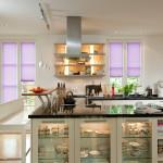 Wabenplissee Maßanfertigung in der Küche