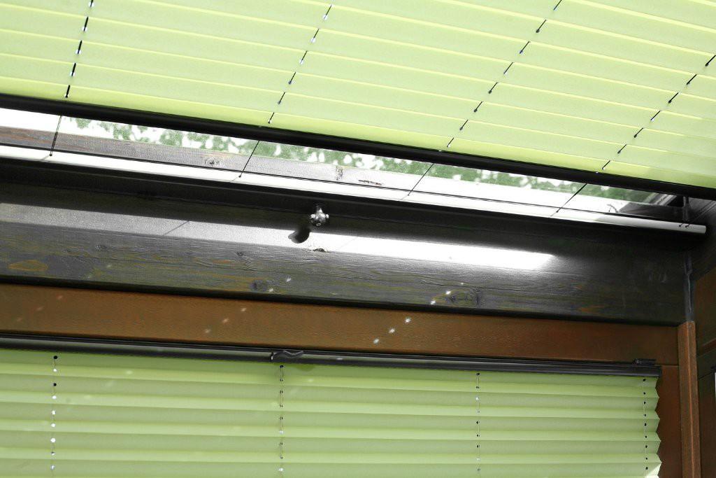 Faltrollos für Plafondfenster
