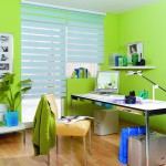 Doppelrollo für senkrechte Fenster