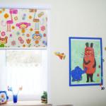 Kinderzimmer Rollo mit Foto