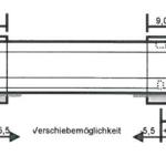Position der Markisenkonsolen