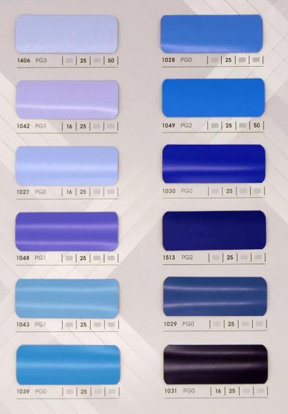 Kollektion Innenjalousien blau
