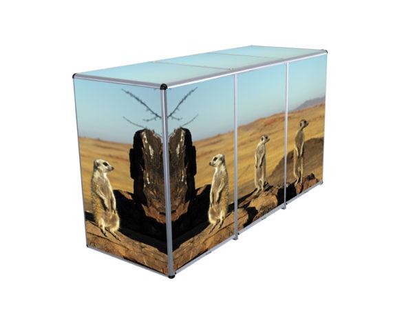 3er ToPaBox mit Erdmännchen Design