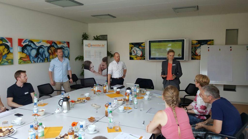 Open Innovation Workshop Rollomeister 1