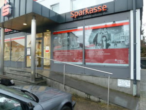 Kundenreferenz: Sparkassenfiliale in Heppenheim