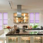 Faltrollos für senkrechte Fenster