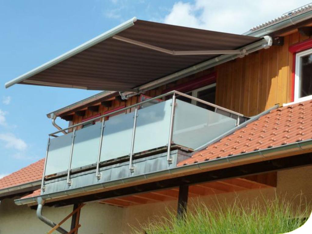 rollomeisterde balkon sonnenschutz online kaufen With markise balkon mit tapeten günstig bestellen