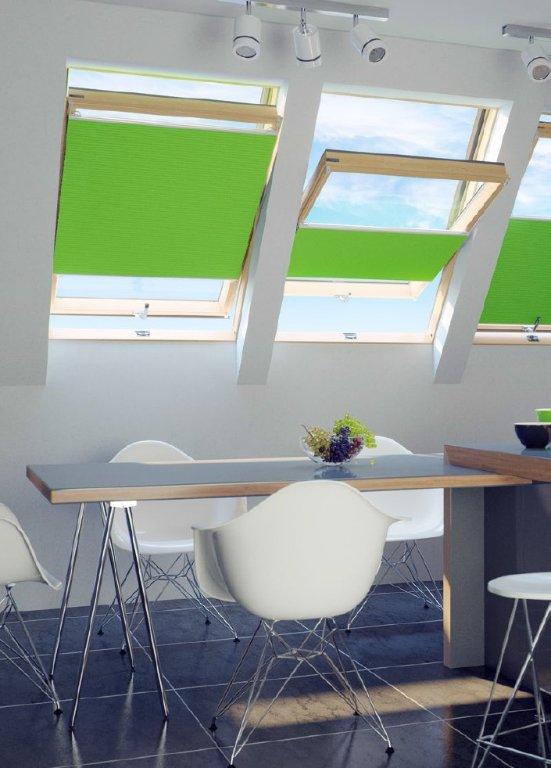 plissee ohne bohren f r dachfenster online kaufen. Black Bedroom Furniture Sets. Home Design Ideas