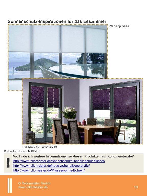 Rollomeister Trendbuch Sonnenschutz 1